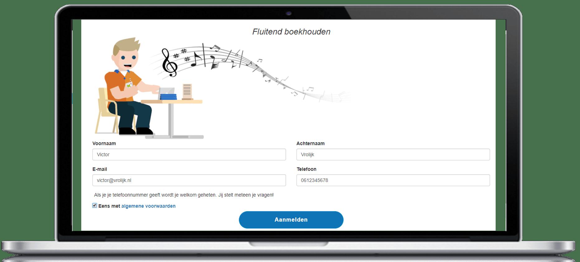 aanmelding proefabonnee zp app